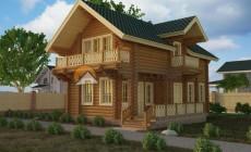 Дом-баня 113.65 м2 7.33х10 по проекту СИМФЕРОПОЛЬ