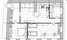 Планировочные решения квартиры в историческом центре Санкт-Петербурга