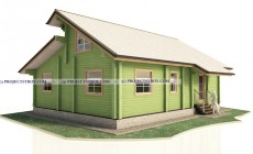 Одноэтажный дом 9 х 12 м