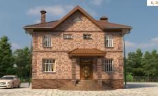 Готовый проект дома - 150 кв. м / Артикул Ц-109