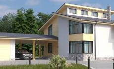 Готовый проект дома 198 кв.м // Артикул В-122