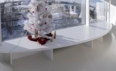 Стол, подоконники, столешницы  из искусственного камня