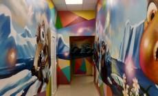 Оформление стен детской стоматологии
