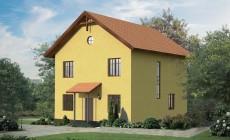 Готовый проект дома 164 кв.м // Артикул ИЛ-124