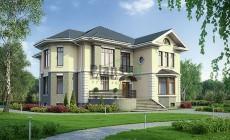Проект кирпичного дома 40-11