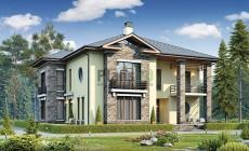 Проект кирпичного дома 40-12