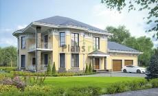 Проект кирпичного дома 40-16