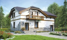 Проект кирпичного дома 40-20