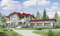Проект кирпичного дома 40-21