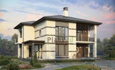 Проект кирпичного дома 40-23