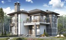 Проект кирпичного дома 40-24