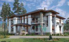 Проект кирпичного дома 40-26