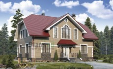 Проект кирпичного дома 40-27