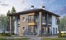 Проект кирпичного дома 40-31