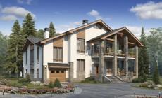 Проект кирпичного дома 40-35