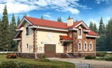 Проект кирпичного дома 40-36