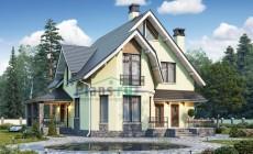 Проект кирпичного дома 40-38