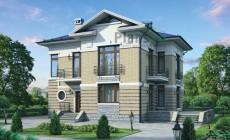 Проект кирпичного дома 40-40