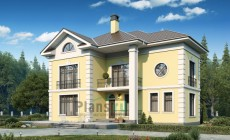 Проект кирпичного дома 40-44
