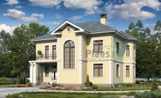 Проект кирпичного дома 40-45