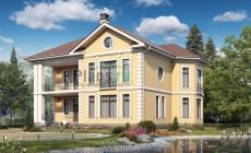 Проект кирпичного дома 40-47