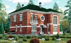 Проект кирпичного дома 40-53