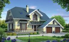 Проект кирпичного дома 40-54