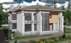 Проект кирпичного дома 40-57