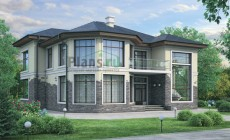 Проект кирпичного дома 40-58