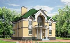 Проект кирпичного дома 40-64
