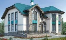 Проект кирпичного дома 40-66