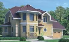 Проект кирпичного дома 40-70