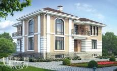 Проект кирпичного дома 40-71