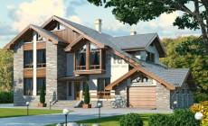 Проект кирпичного дома 40-72