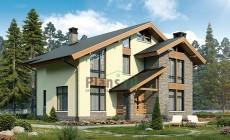 Проект кирпичного дома 40-74