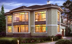 Проект кирпичного дома 40-81