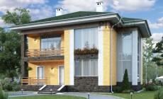 Проект кирпичного дома 40-82
