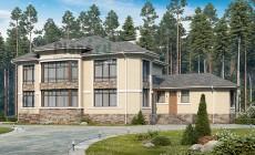 Проект кирпичного дома 40-84
