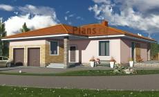 Проект кирпичного дома 40-86