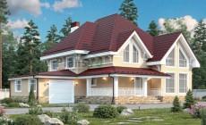 Проект кирпичного дома 40-91