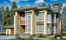 Проект кирпичного дома 40-92