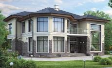 Проект кирпичного дома 40-94