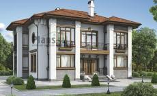 Проект кирпичного дома 40-96