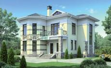 Проект кирпичного дома 40-98