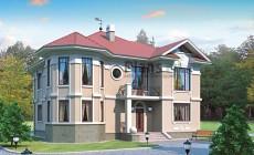 Проект кирпичного дома 41-00