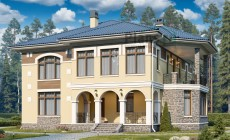 Проект кирпичного дома 41-06