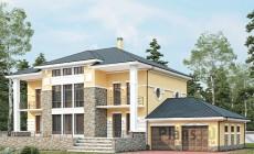 Проект кирпичного дома 41-08