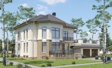 Проект кирпичного дома 41-09