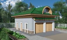 Проект кирпичного дома 41-21