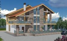 Проект кирпичного дома 41-25